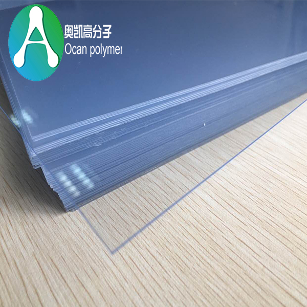 Good Quality 1mm Acrylic Sheet Transparent Pvc Sheet Ocan Polymer China Suzhou Ocan Polymer Material