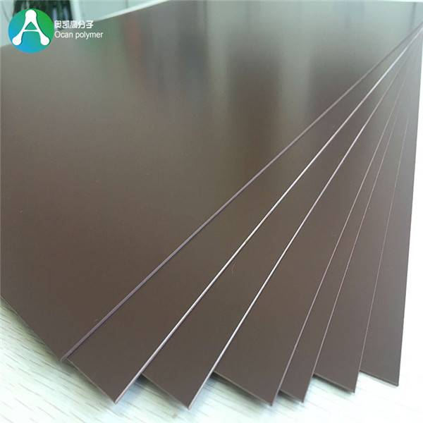 1.5mm Rigid Plate plast Farget PVC Skjema for Møbler Lamine Featured Image