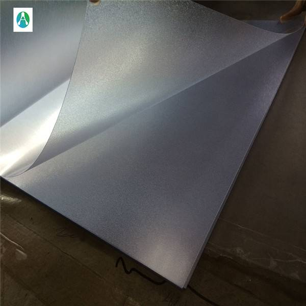 Embossed pvc transparent sheet for offset printing and post board Featured Image