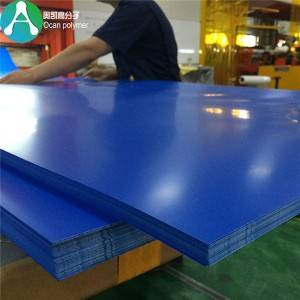 1.5mm kaku Sheet Plastic Colored PVC Sheet kanggo Furniture laminasi