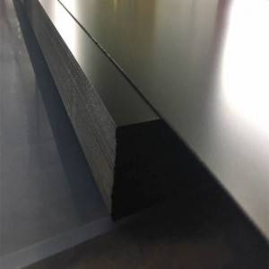 0.5mm Grade A/B PVC Matt Black PVC Sheet for Cooling Tower Fills
