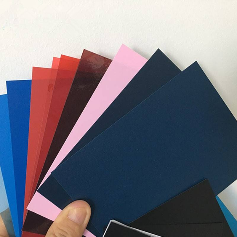 Customized color rigid PVC Sheet 0.2-6mm thickness Featured Image