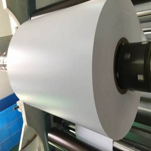 White rigid PVC Film material for printing