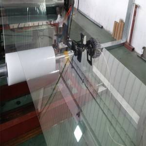 Transparent vanachandagwinyira PET Sheet / Roll