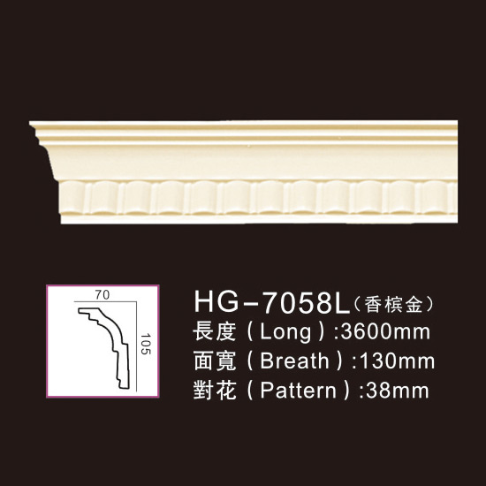 OEM/ODM Factory Decorative Polyurethane Pu Moulding -