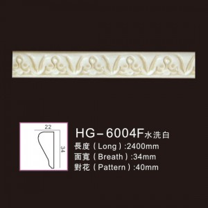 Effect Of Line Plate-HG-6004F water white