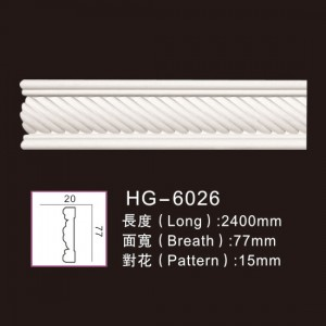 Manufacturer for Outdoor Heating Fireplace - Carving Chair Rails1-HG-6026 – HUAGE DECORATIVE