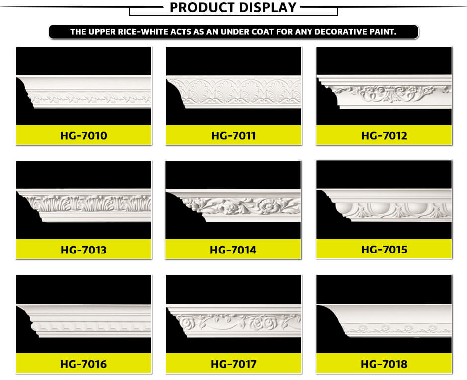 Carving Cornice Mouldings-HG7010 a