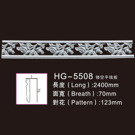 OEM Factory for Polyurethane Baseboard Mouldings -