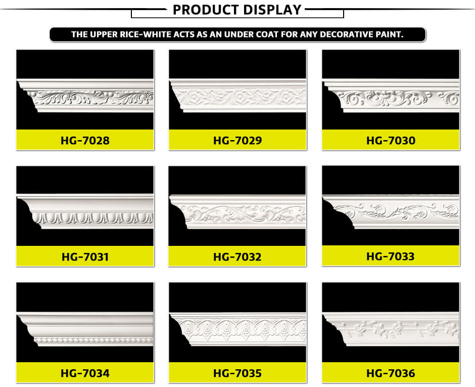 Carving Cornice Mouldings-HG7028
