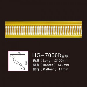 Effect Of Line Plate-HG-7066D gold silver