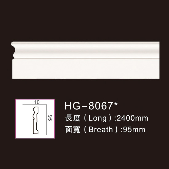 Personlized Products Column Design Pillar - Plain Mouldings-HG-8067 – HUAGE DECORATIVE Featured Image