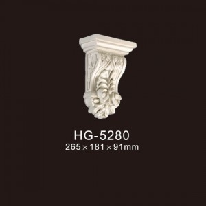 Newly Arrival Medallion And Coin - Exotic Corbels-HG-5280 – HUAGE DECORATIVE