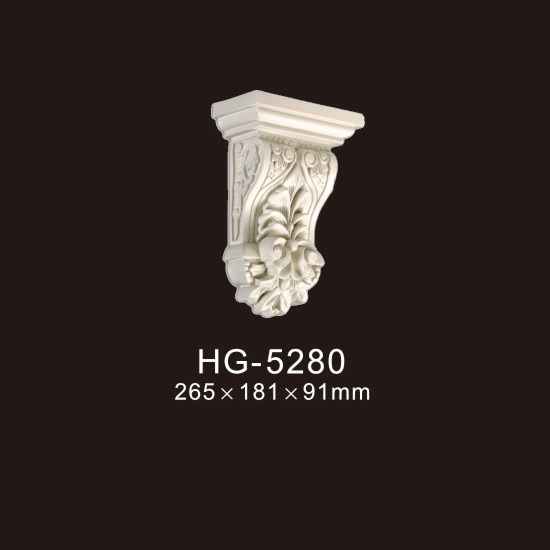 High reputation Wood Moulding - Exotic Corbels-HG-5280 – HUAGE DECORATIVE