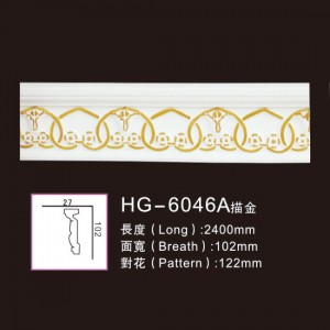 Effect Of Line Plate-HG-6046A outline in gold