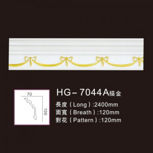 Effect Of Line Plate-HG-7044A outline in gold