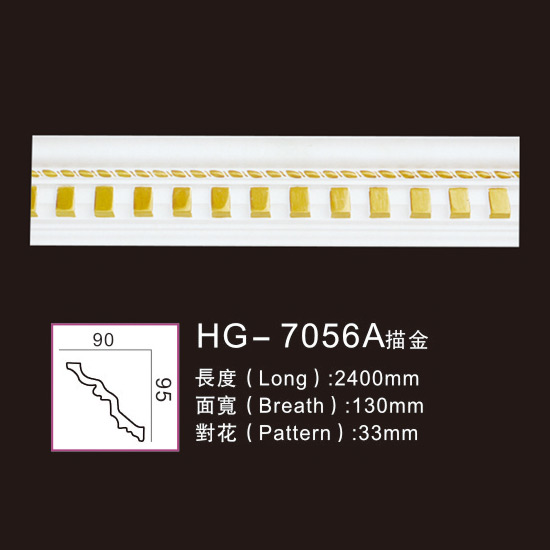 Effect Of Line Plate-HG-7056A outline in gold Featured Image