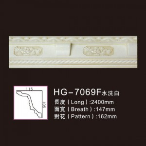 Effect Of Line Plate-HG-7069F water white