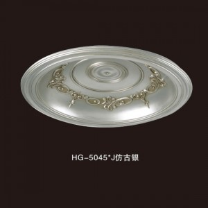Ceiling Mouldings-HG-5045J Antique silver