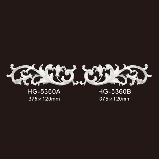 2019 High quality Crown Moulding For Kitchen Cabinet - Veneer Accesories-HG-5360 – HUAGE DECORATIVE