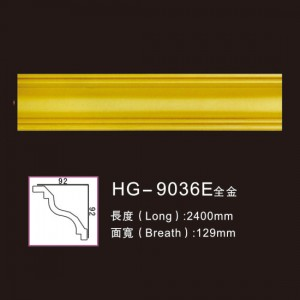 Effect Of Line Plate-HG-9036E full gold