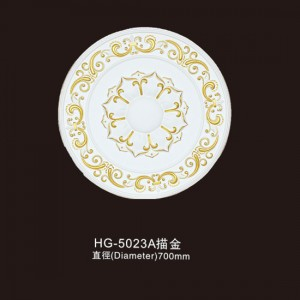 PriceList for Modern Fireplace Surround - Ceiling Mouldings-HG-5023A outline in gold – HUAGE DECORATIVE
