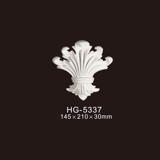 China Gold Supplier for Wall Ceiling Medallions - Veneer Accesories-HG-5337 – HUAGE DECORATIVE