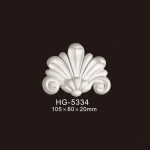 OEM China Popular Design Corbels - Veneer Accesories-HG-5334 – HUAGE DECORATIVE