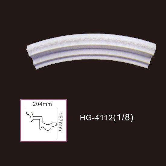 Ordinary Discount Corinthian Column For Sale - Beautiful Lamp Plate-HG-4112 – HUAGE DECORATIVE