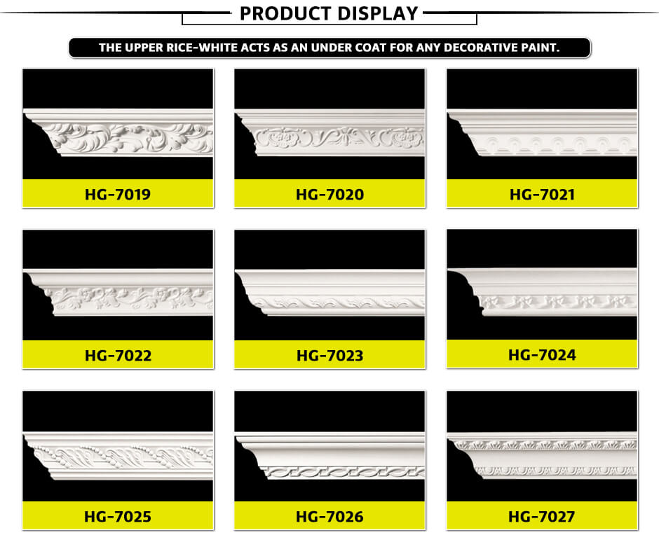 Carving Cornice Mouldings-HG7019 a