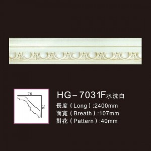 Effect Of Line Plate-HG-7031F water white