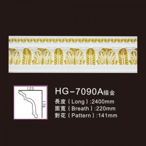 Effect Of Line Plate-HG-7090A outline in gold