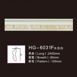 Reliable Supplier Polyurethane Corner Moulding - Effect Of Line Plate1-HG-6031F Water Whitening – HUAGE DECORATIVE
