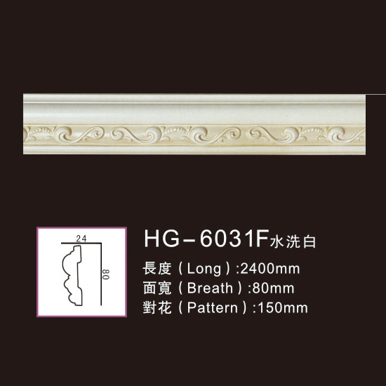 Factory Free sample Ceiling Medallion - Effect Of Line Plate1-HG-6031F Water Whitening – HUAGE DECORATIVE