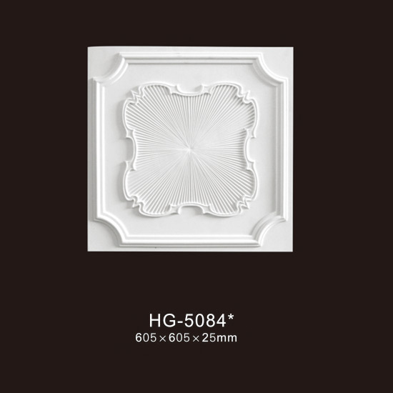 High definition Carved Crown Moulding - Ceiling Mouldings-HG-5084 – HUAGE DECORATIVE Featured Image