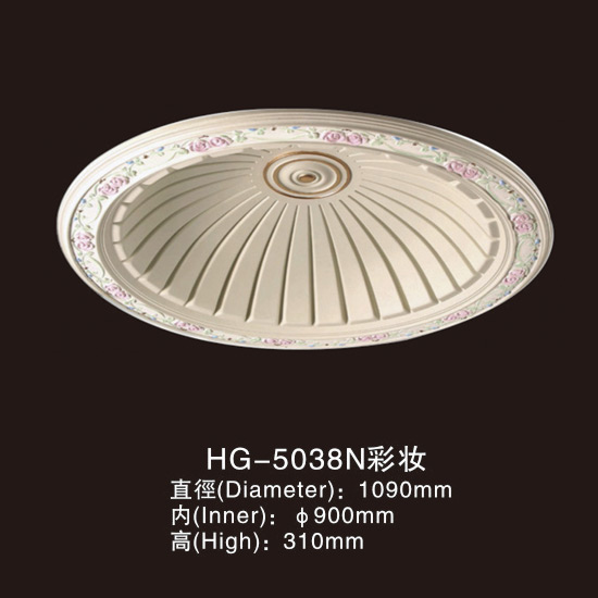 Factory source Cornice Moulding Eps Polyurethane Making -