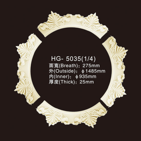Well-designed Europe Style Polyurethane Trim Moulding -