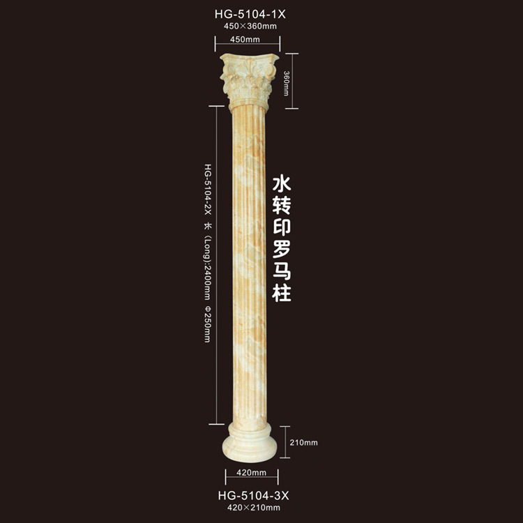 Wholesale Price China Pretty Corbel -  Roma Corbels-HG-5104X – HUAGE DECORATIVE