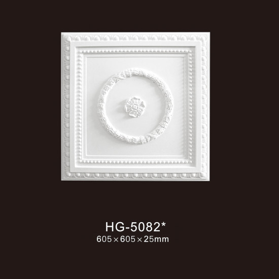 Wholesale Price Ethanol Fireplace - Ceiling Mouldings-HG-5082 – HUAGE DECORATIVE Featured Image