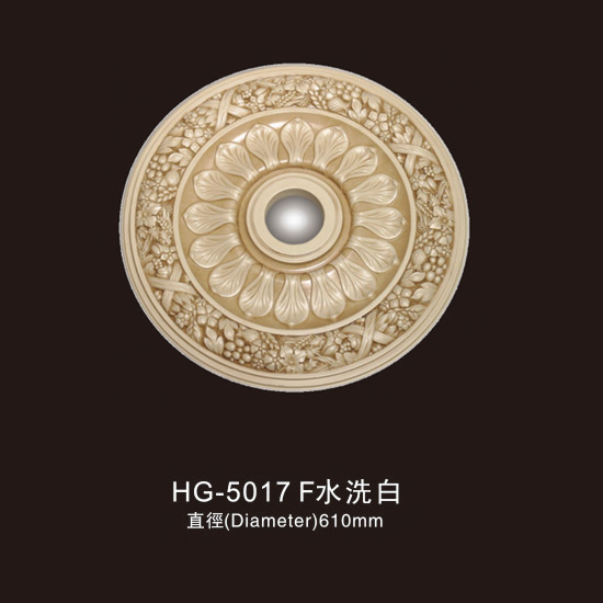 Factory Cheap Granite Column Round - Ceiling Mouldings-HG-5017F water white – HUAGE DECORATIVE
