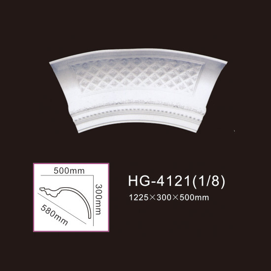 China Manufacturer for Square Marble Columns - Beautiful Lamp Plate-HG-4121 – HUAGE DECORATIVE