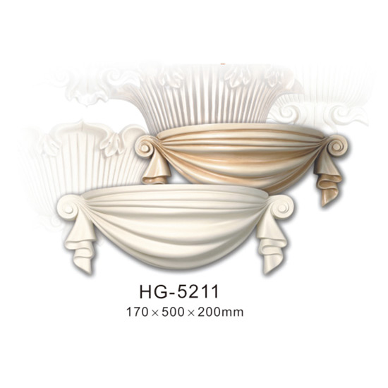 Wholesale Dealers of Crown Moulding Ceiling - Fireplace Corbels & Surface Mounted Nicbes-HG-5211 – HUAGE DECORATIVE