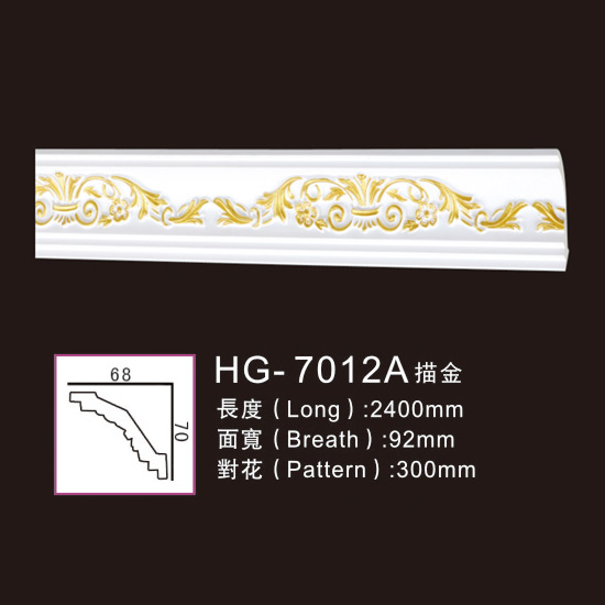 Chinese wholesale PU Decorative Medallion -