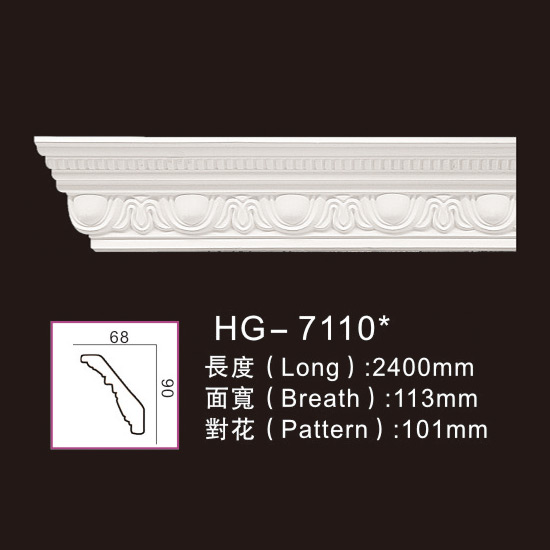PriceList for Polyurethane Cornices Moulding -