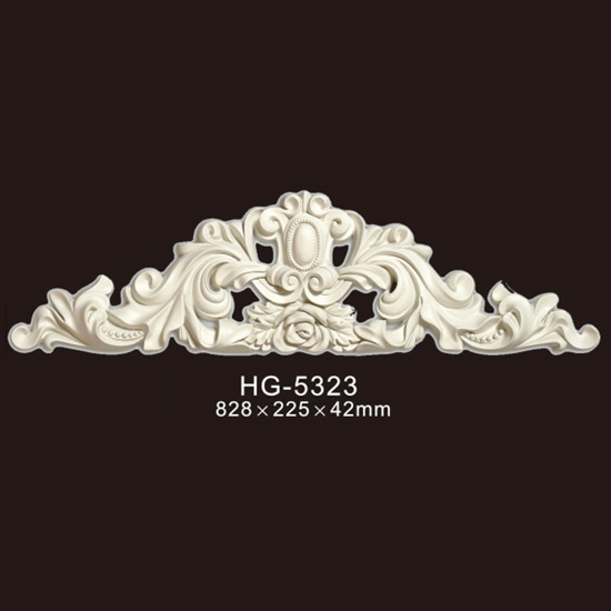 Top Suppliers Ceiling Panels Crown Moulding - Veneer Accesories-HG-5323 – HUAGE DECORATIVE