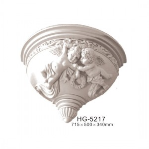 Factory Supply Wedding Roman Column - Fireplace Corbels & Surface Mounted Nicbes-HG-5217 – HUAGE DECORATIVE