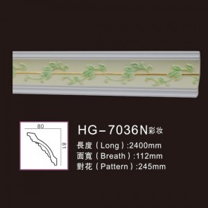 Competitive Price for Crown Moulding Line - Effect Of Line Plate1-HG-7036N Make-up – HUAGE DECORATIVE