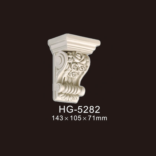 Factory Cheap Hot Gypsum Corbel - Exotic Corbels-HG-5282 – HUAGE DECORATIVE