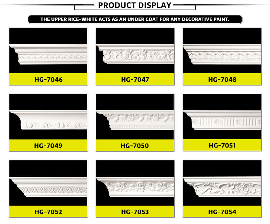 Carving Cornice Mouldings-HG7046