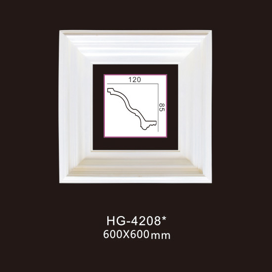 Fast delivery Pu Crown Corner Moulding - PU-HG-4208 – HUAGE DECORATIVE